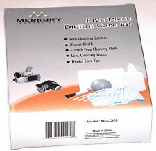 5 Piece Digital Lens Cleaning Kit Cleaner Care  Filter Camera screen Merkury