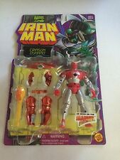 1996 Marvel Comics ToyBiz Iron Man Crimson Dynamo Action Figure