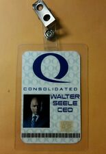 Arrow ID Badge - Queen Consolidated Walter Seele CEO  cosplay costume