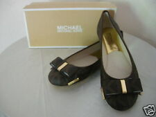 Authentic Michael Kors Kiera Women Ballet Flats Brown Size 8.5