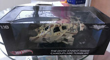 MISB Die-cast 1:18 Hot Wheels Camo Tumbler (BATMOBILE, Dark Knight Rises)