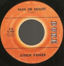 """JUNIOR PARKER """"Wait For Another Day"""" 1965 TRUE NORTHERN SOUL 45 b/w Man Or Mouse"""