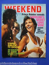 Weekend Magazine - Princess Caroline, Rolf Harris, Linda Baron   15th Aug 1979