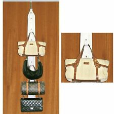 Purse Holder - Includes Door And Closet Rod Hangers for Perfect Organization