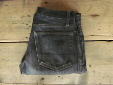 J CREW JEANS 30x31 FADED-GREY STRAIGHT/SLIMISH ZIPPER-FLY 100% COTTON - Excellen