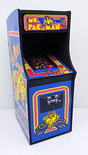 MINI MS PAC MAN ARCADE MACHINE MODEL 1/12TH SCALE (6 INCHES)