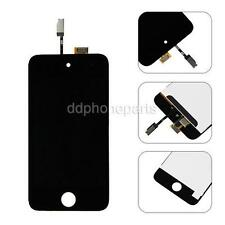 Black LCD Display + Touch Digitizer Screen Assembly Replacement For iPod Touch 4