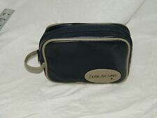 Vintage Delta Airlines Cosmetic Travel Toiletries Bag Kit Case  17979