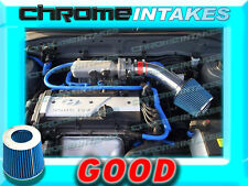 RED BLUE AIR INTAKE KIT FOR 01 02 03 04 05/2001-2005 HYUNDAI ACCENT WITH 1.6L