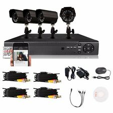 4CH 960H HDMI CCTV DVR Home Outdoor 900TVL Camera Video Recorder Security System