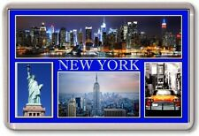 FRIDGE MAGNET - NEW YORK - Large - USA TOURIST