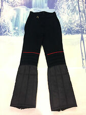 EUROPA VTG Womens FITTED RACE Ski Snow Board Pants NAVY BLUE s12 LONG PADDED