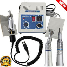 Dental Lab Marathon MicroMotor Electric Straight Handpiece Contra Angle Polisher