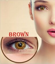 Contact Lenses BROWN Colorful Contacts Colored Cosmetic MARRON