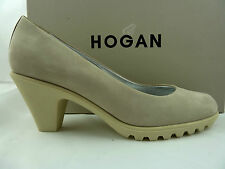 Hogan by Tod's sportliche Pumps  in Beige Gr.40
