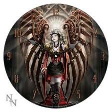 NEMESIS NOW ANNE STOKES STEAMPUNK AVENGER WALL CLOCK Gothic/Legend