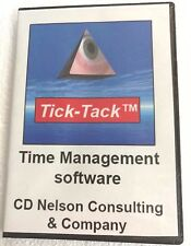 CLICK-TIME TIME CLOCK TIME MANAGEMENT SOFTWARE UP TO 8 EMPLOYEES, ONE LICENSE