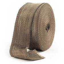 "25mm x 4.5 Metres / 1"" x 15FT Volcano Manifold/Pipe/System/Box Exhaust Heat Wrap"
