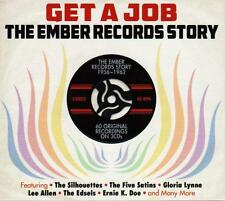 GET A JOB - THE EMBER RECORDS STORY 1956-1962 VARIOUS ARTISTS (NEW SEALED 3CD)