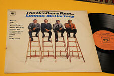 BROTHERS FOUR LP A BEATLES SONGBOOK 1°ST ORIG ITALY 1966 EX DEBUT ALBUM MONO