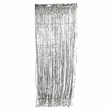 Metallic Curtains 3ft X 8ft Foil Fringe Multicolored Party Favor Decorations
