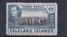 FALKLAND 1938 - 50  S G 153 3D BLACK & BLUE MH NO2