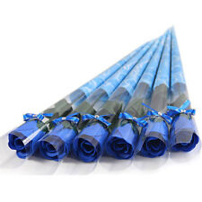 5pcs Creative Soap Roses Flower Wedding Favours Decor Valentine's Day Gifts