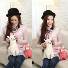 23cm Alpaca Llama Plush Toy Stuffed Animal Birthday Dolls For Kids Child