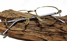 Vintage Germany Gold Plated 18K GP Oval Women Eyeglasses Frame