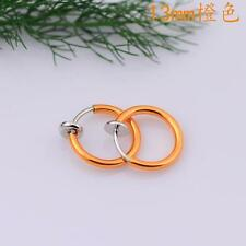 Promotion Price Clip On Fake Piercing's Stud Hoop Nose Lip Ear Rings Party Show