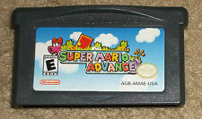 Super Mario Advance Nintendo Game Boy Advance Authentic Saves