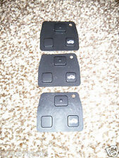 3 PIECES Toyota Corolla Lexus 2 3 Button Rubber Key Pad Replacement Fob Buttons