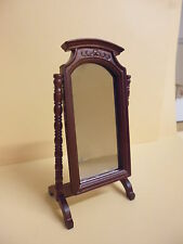 Dolls House Quality furniture  1/12 scale   Cheval Mirror  63225M