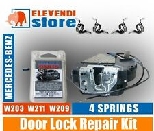 Mercedes C E Class W203 W209 W211 Door Lock Repair Kit - 4 x SPRINGS