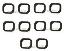 10pcs Replacement Rubber Gasket Home Button Holder Adhesive Sticker iPhone 5S