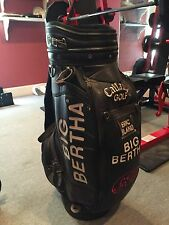 Callaway Vintage Golf S2H2 Tour Staff Cart Bag Big Bertha Excellent Condition