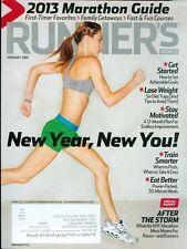 2013 Runner's World Magazine: Marathon Guide/New Year, New You/NYC Marathon