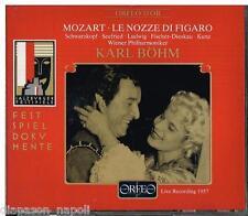 Mozart: Le Nozze Di Figaro / Bohm, Schwarzkopf, Salzburg 30/7/1957 - CD