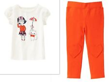 GYMBOREE PREP PERFECT GIRLS PANTS  OUTFIT  NWT SIZE 3T