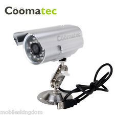 Outdoor CCTV Security Camera IR Night Vision Memory Card Slot Video Recorder DVR