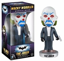 *** JOKER BANK ROBBER - BATMAN DARK KNIGHT - WACKY WOBBLER BOBBLE HEAD - NEW***