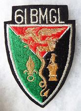 GRTIS 004 - INSIGNE TISSU - LEGION ETRANGERE - 61° B. M. G. L.