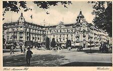 B4616 Germany Wiesbaden Hotel Nassauer Hof front/back scan
