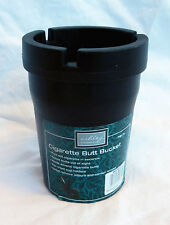 Smokeless Ashtray - Bin Style Ashtray with Cover - Butt Bucket - BNWT