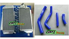 Aluminum Radiator FOR Yamaha YZ450F YZF450 YZ 450 F YZF 450 2014 2015 14 15+hose