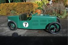 1930's style sports car hand made kids ride on electric car Manual. Good project