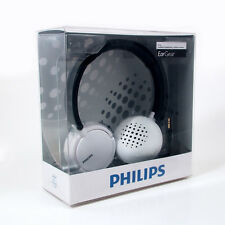 New Philips EarGear Headband Headphone White/Black, SHL5000/28, Deep Bass, 3.5mm