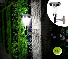 High-end Metal Wall Mount Solar Light Outdoor Pathway Gate w/4 Bright LED