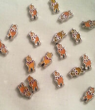 Winnie The Pooh Bear Floating Charm for Glass Memory Locket Necklace or Earrings