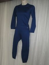 PATAGONIA Womens Medium Blue Long Slv Athletic Yoga Exercise Jogging Sweats Suit